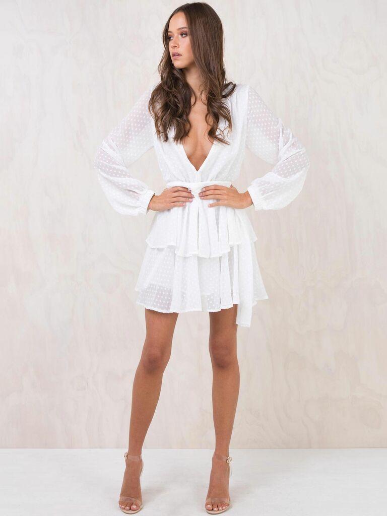 e8ce847ff98 Bridal Shower Dresses for Bride  12 Bridal Shower Dress Ideas