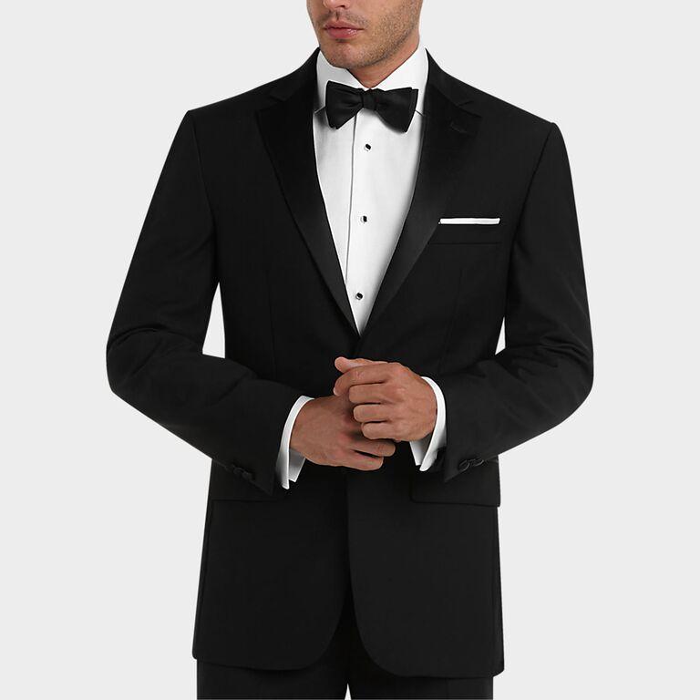 classic formal black tuxedo