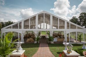 A Tented Reception at Inn at Warner Hall