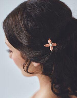 Davie & Chiyo   Hair Accessories & Veils Léa Hairpin Gold, Pink, Silver Pins, Combs + Clip