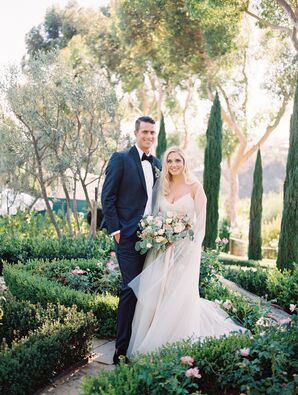 Romantic, Earthy Garden Wedding in Malibu