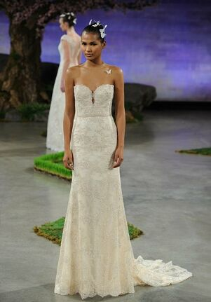 Ines Di Santo Honey Sheath Wedding Dress