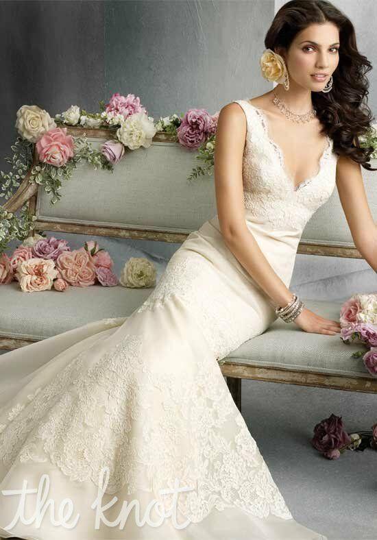 Jim hjelm 8800 wedding dress the knot for The knot gift registry