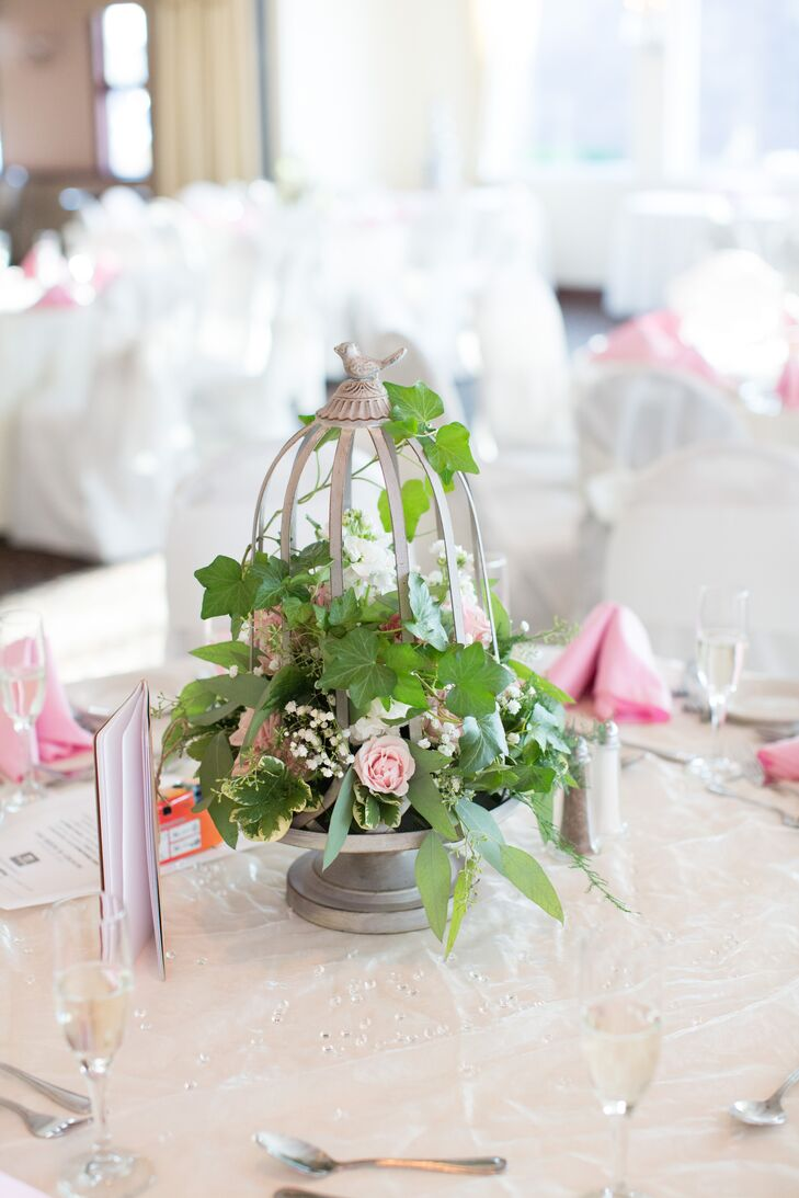 Garden-Inspired Reception Centerpieces