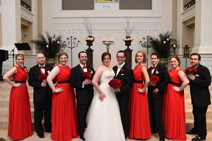 Red And White Wedding.Black White And Red Wedding Party