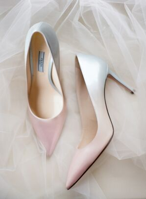 Glamorous Pink Ombre High Heels