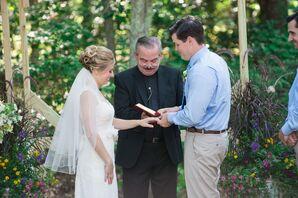 Lauren and Dan Wedding Ceremony Ring Exchange