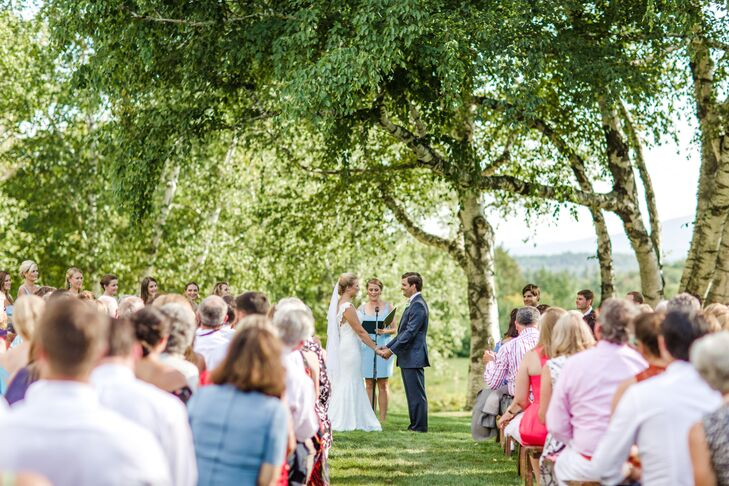 Ceremony in a Vermont Backyard