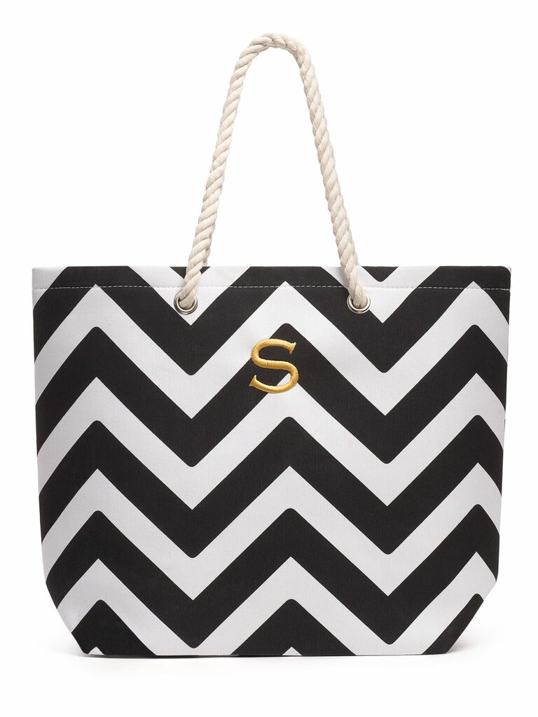 The Knot Shop extra large Cabana tote bag gift for wife