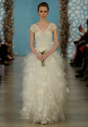 Oscar de la Renta Bridal 2014 Look 4 Ball Gown Wedding Dress