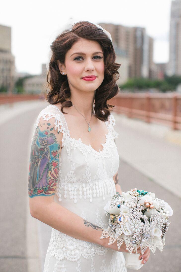 Vintage Inspired Bridal Hair And Makeup