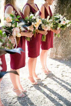 Lush Bridesmaid Bouquets