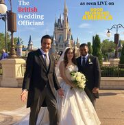 Orlando, FL Wedding Officiant | Steve Greer GMA's Royal Wedding TV Officiant!