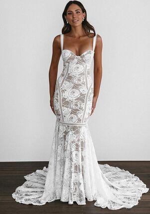 Grace Loves Lace Palm Mermaid Wedding Dress