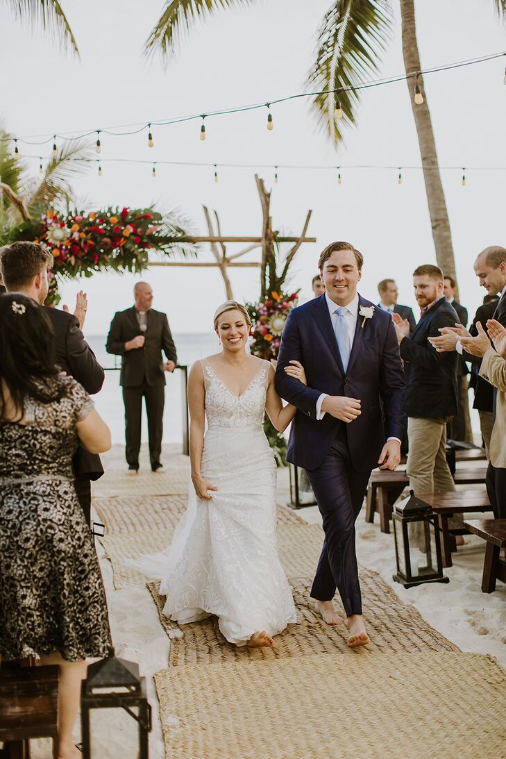 Recessional at Mahekal Beach Resort in Mexico