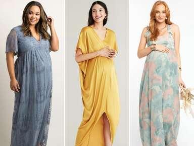 maternity bridesmaid dresses for pregnant bridesmaids