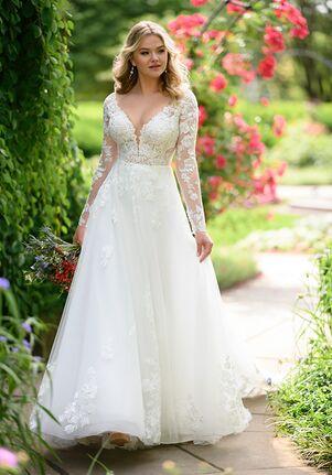 Essense of Australia D2846 Ball Gown Wedding Dress