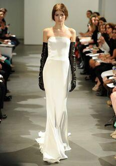 Vera Wang Spring 2014 Look 2 Sheath Wedding Dress