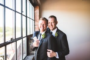 Same-Sex Couple at the Mitchell Lofts in Dallas, Texas