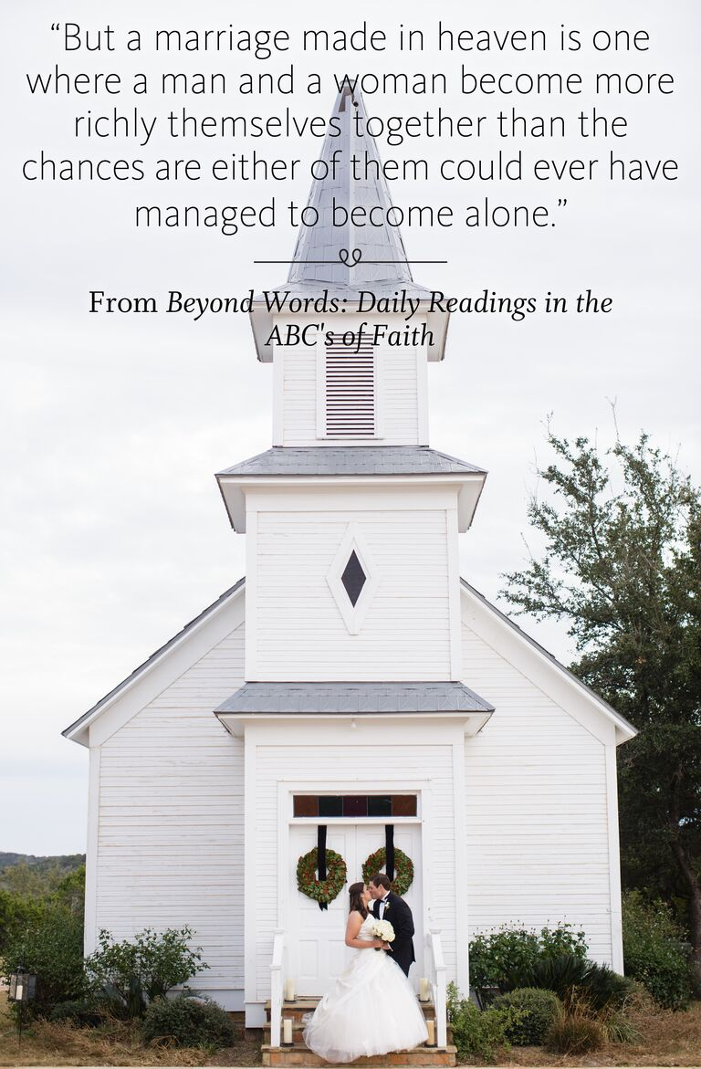 Beyond Words: Daily Readings in the ABC's of Faith wedding reading