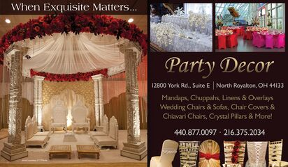 PARTY DECOR | Rentals - North Royalton, OH