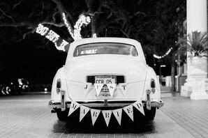 Vintage Rolls-Royce Getaway Car