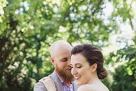 Because the bride always envisioned a wedding on the Maumee River, Maude Kasperzak (creative director at Charm City Cakes) and Zachary Wimberly (29 an