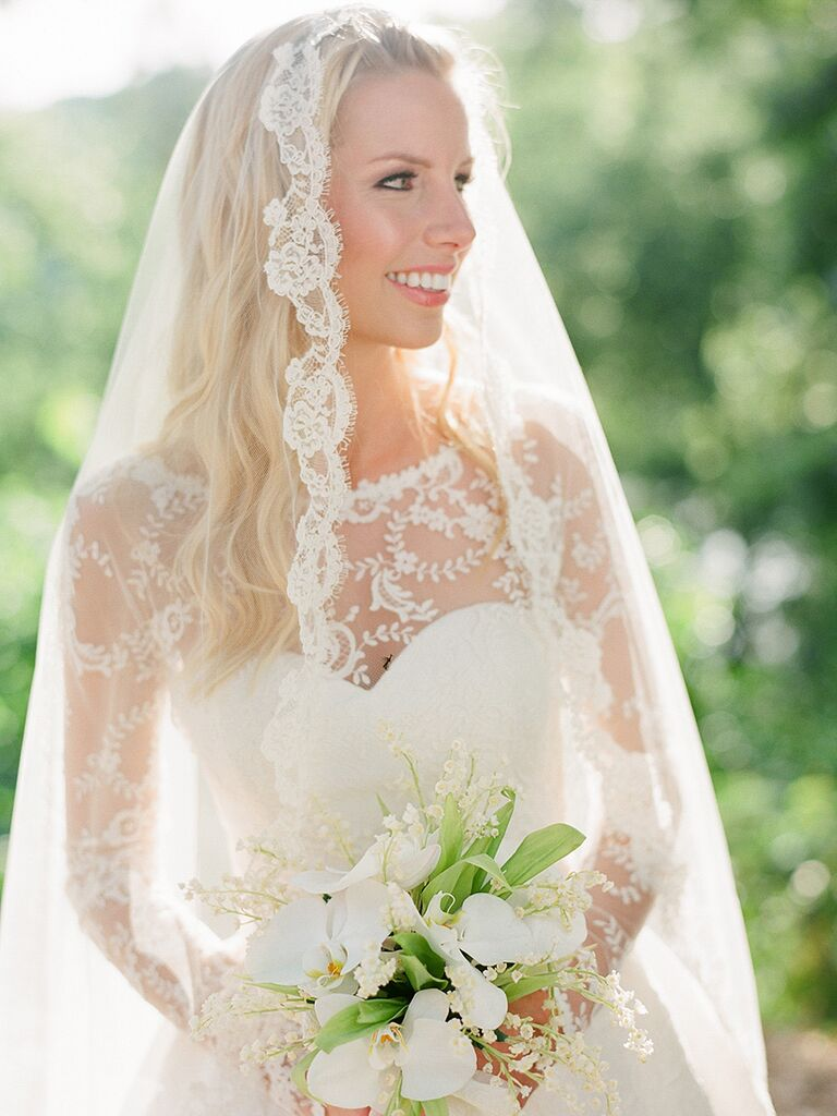Wedding Hairstyles For Long Hair Styled With Veils