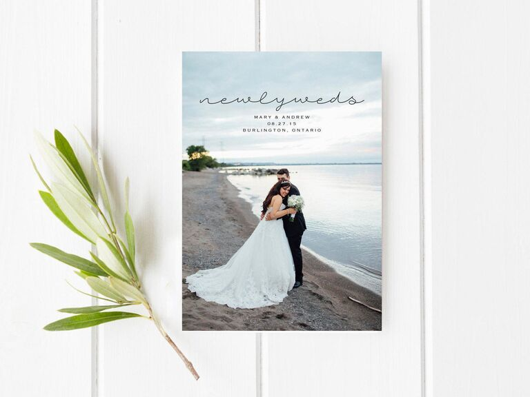 Aceti Design Co printable wedding announcement