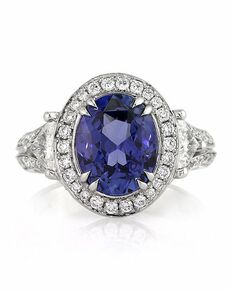 Mark Broumand Glamorous Oval Cut Engagement Ring