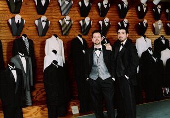 Tuxedo's by Merian