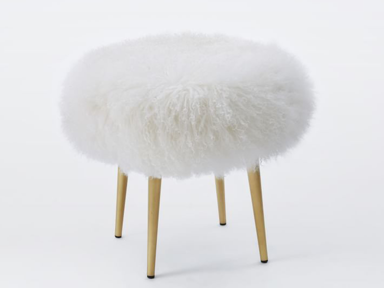 ... new bathroom vanity stool (or just a good statement piece of furniture for a room) a new luxe stool is the perfect unexpected 7 year anniversary gift. & 7 Year Anniversary Gift Ideas