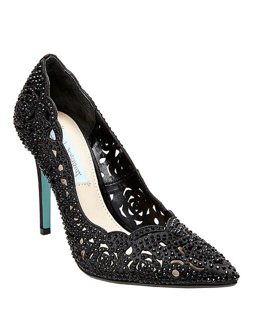 4c6a486f77a Blue by Betsey Johnson SB-ELSA-black Wedding Shoes - The Knot