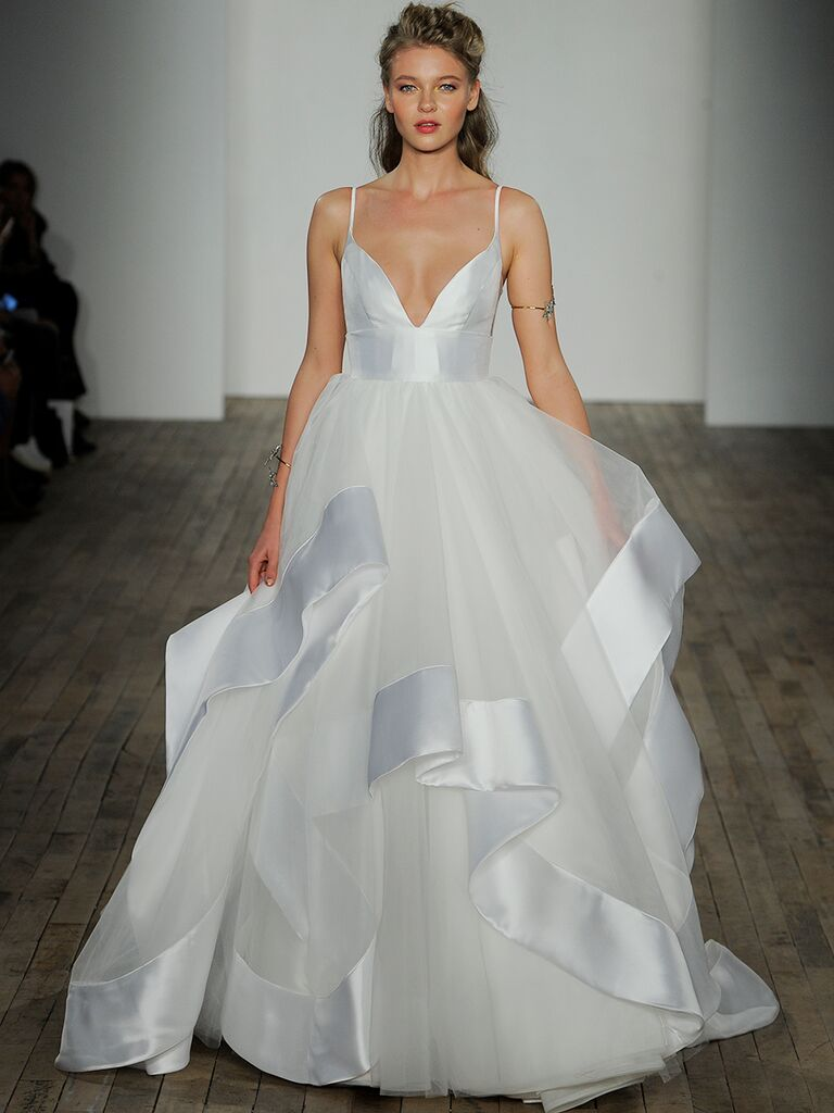 Hayley Paige Fall 2018 Collection Bridal Fashion Week Photos