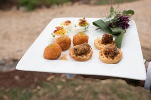 Chicken and Waffles Passed Appetizers