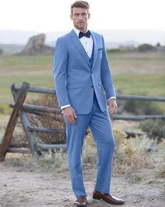 Allure Men Cornflower Blue Tuxedo