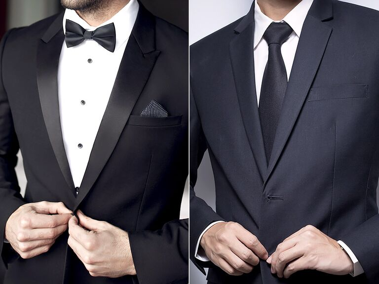 Tuxedo vs suit differences