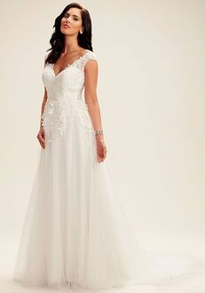 Avery Austin Elena A-Line Wedding Dress