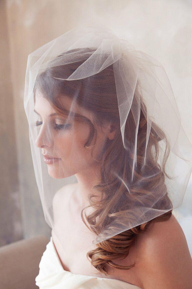 bubble blusher veil