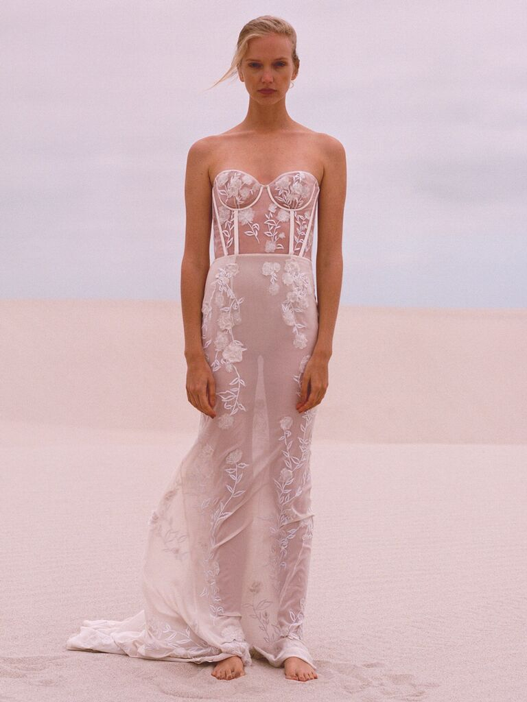 Hermione de Paula Spring 2019 Collection: Bridal Fashion Week Photos