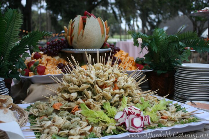 On The Go Gourmet Tampa Florida Wedding Catering Fruit Platter