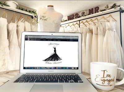 Renting White Dresses