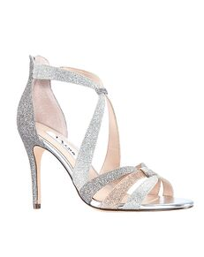 Nina Bridal Casey Gold, Silver, Gray, Champagne Shoe