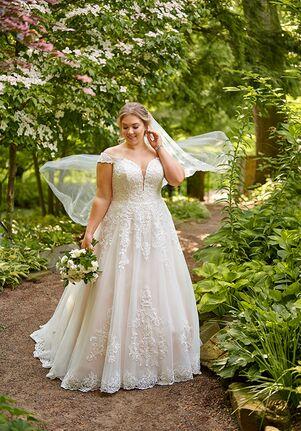 Essense of Australia D2815+ Ball Gown Wedding Dress