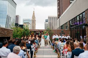 Rooftop Ceremony at The Curtis in Denver, Colorado