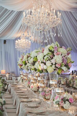 Elegant Spring Garden Party Reception Tent