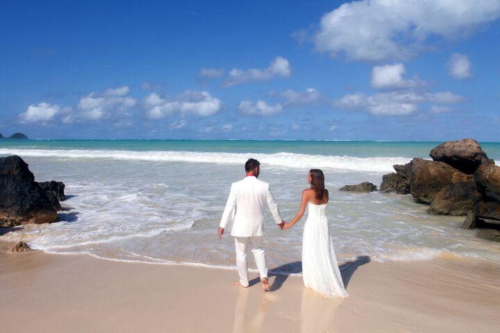 Sweet hawaii wedding honolulu hi storefront photo junglespirit Images