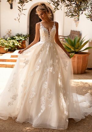 Moonlight Collection J6781 A-Line Wedding Dress