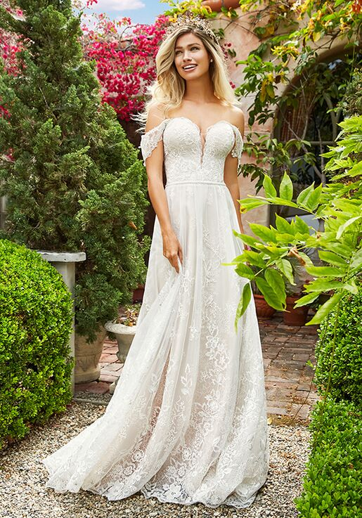Simply Val Stefani River Wedding Dress