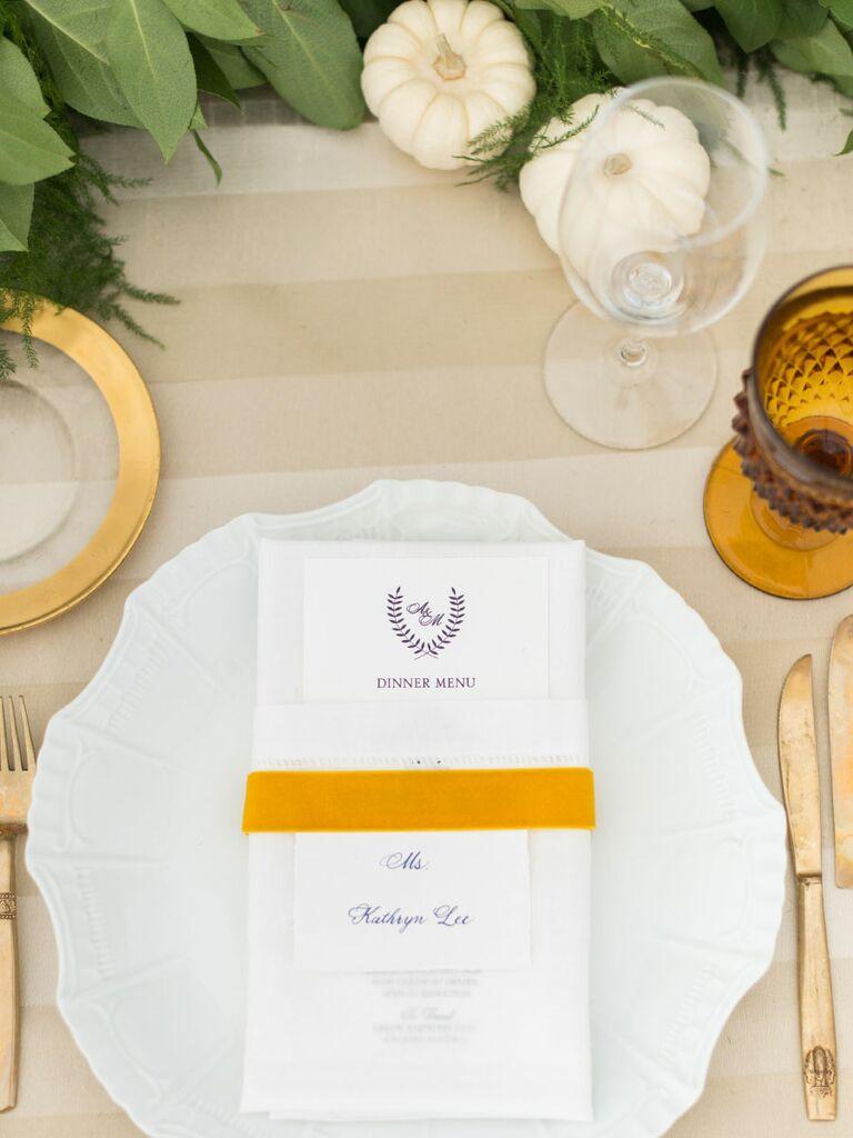 Pumpkin Wedding Décor Ideas
